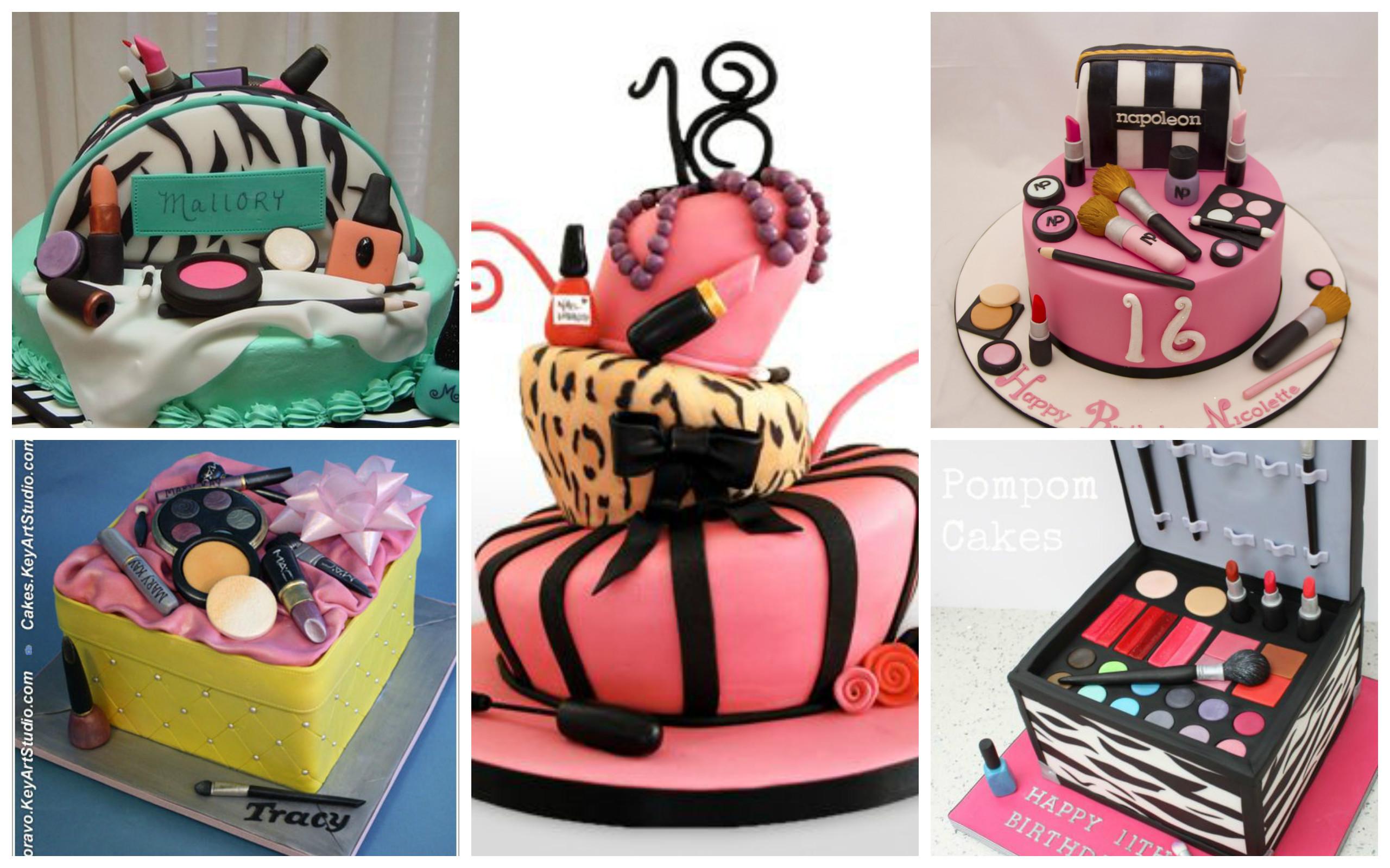 Makeup Cake Decorations : Amazing Makeup Cake Ideas - Page 5 of 21