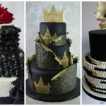 Super Cool and Stunning Black Cakes