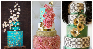 Top 15+ Modern Wedding Cakes