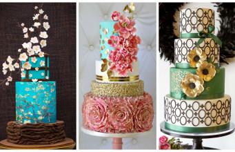 Top 15+ Modern Wedding Cakes
