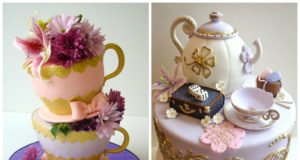 Top 20+ Pretty Tea Cups and Pots Cakes