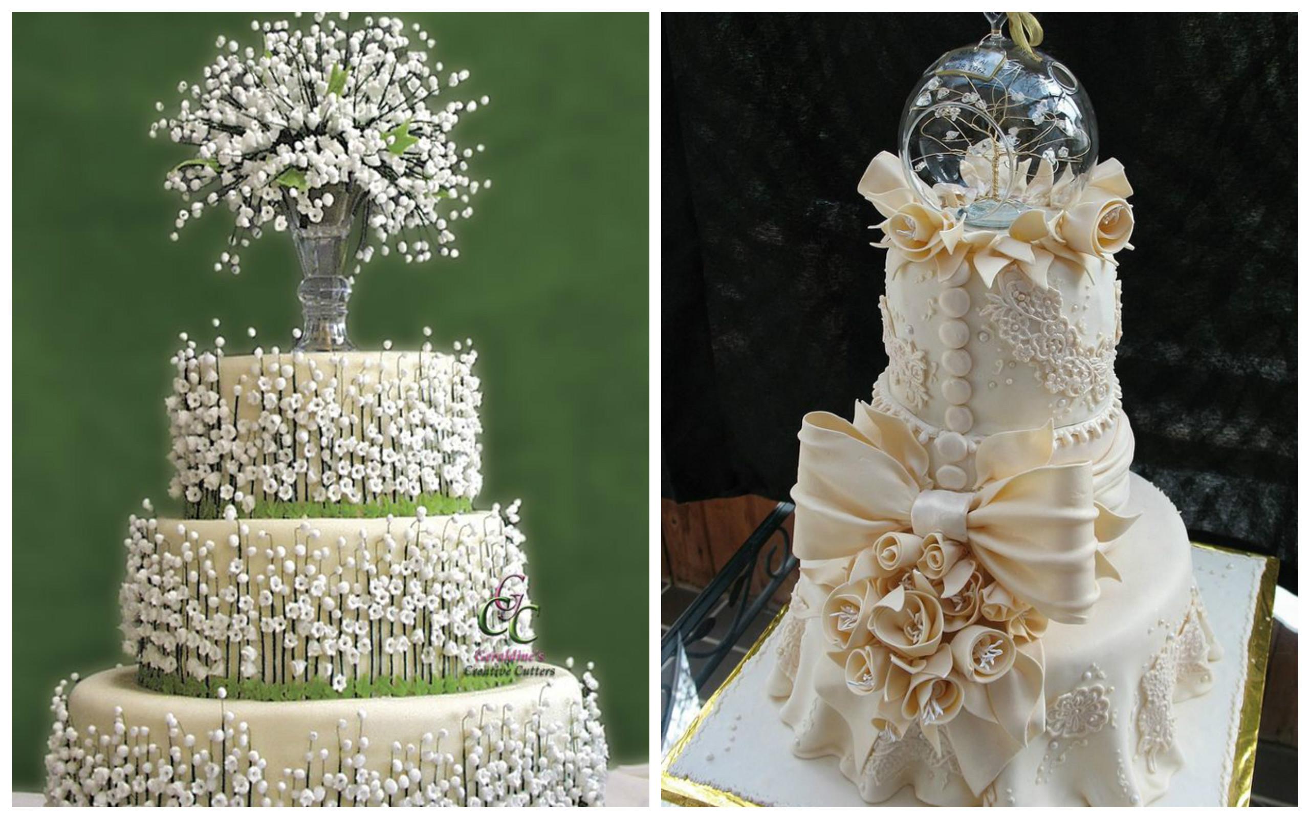 Elegant Wedding Cakes Image Collections Wedding Dress