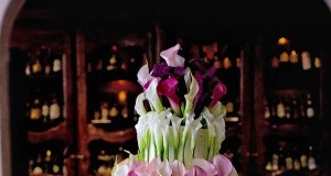 Amazing Calla Lilly Wedding Cake