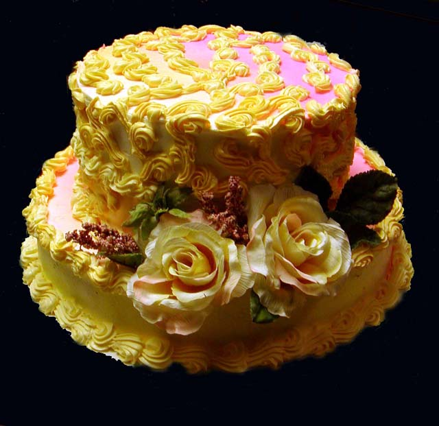 Amazing Yellow Hat Cake