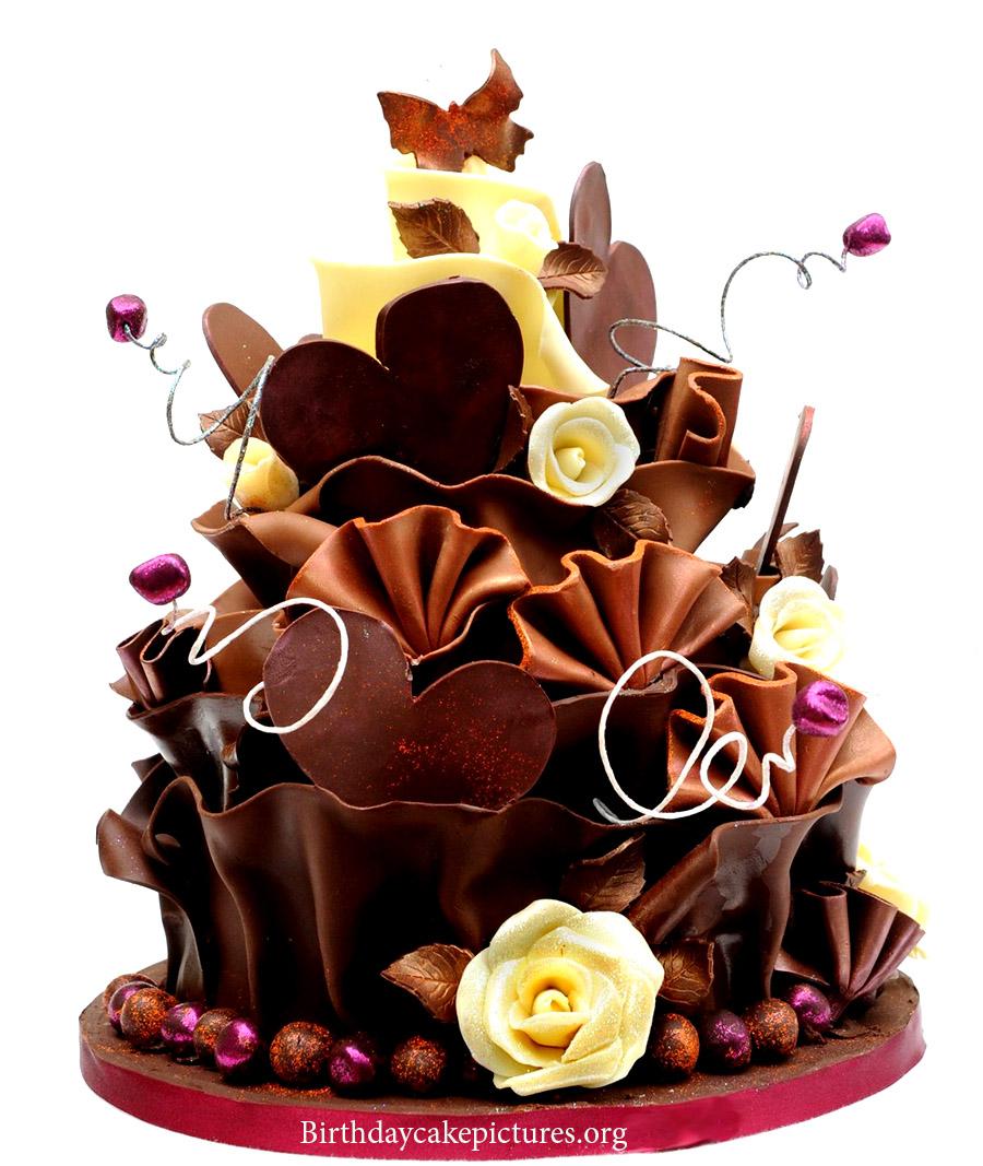 Beautiful Birthday Chocolate Cake Amazing Cake Ideas