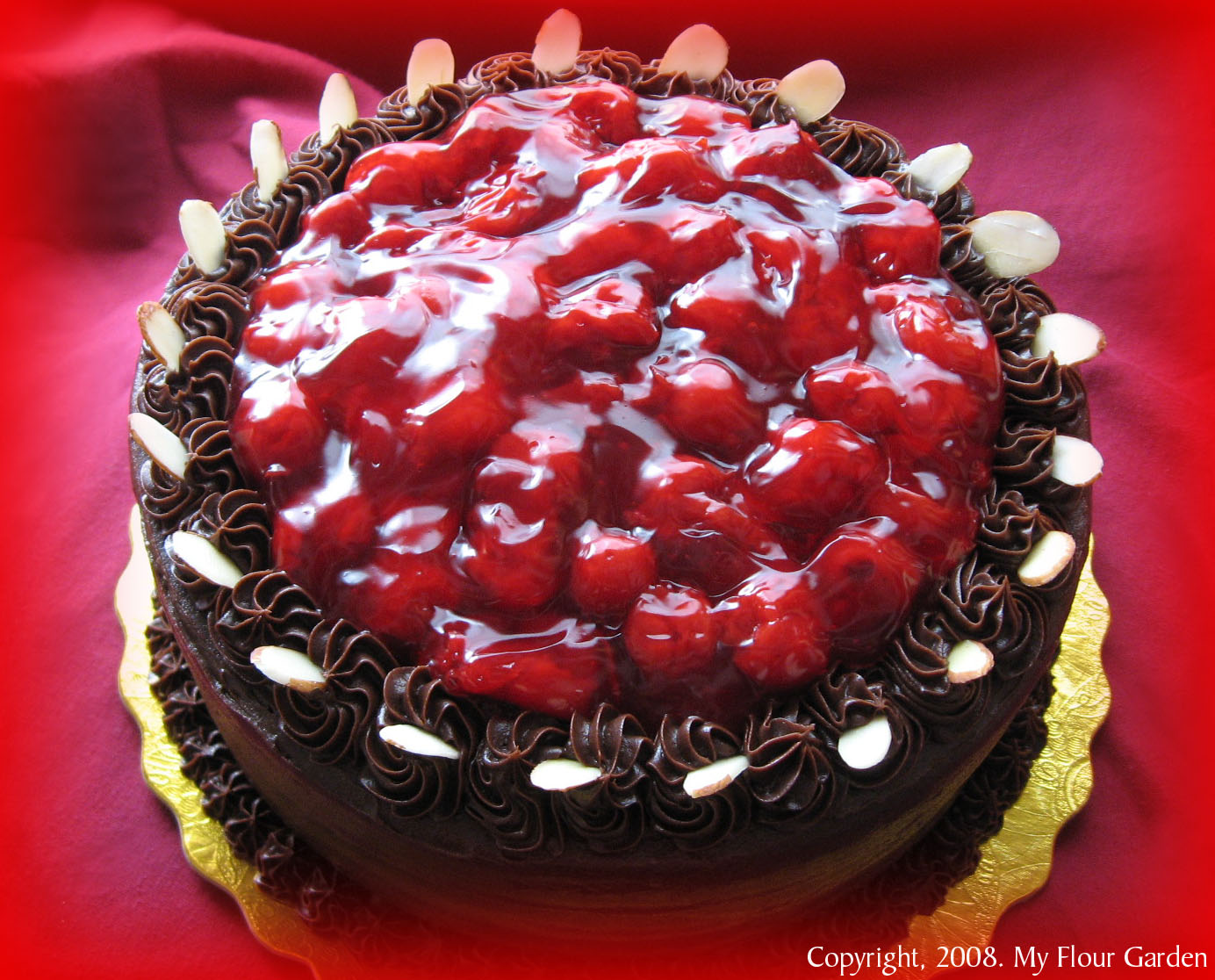 Black Forest Cake Maraschino Cherries