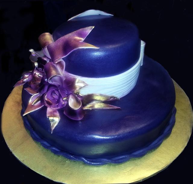 Blue Hat Cake