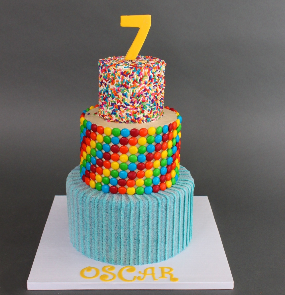 Top 15 Mouthwatering Candy Cakes Ever Designed
