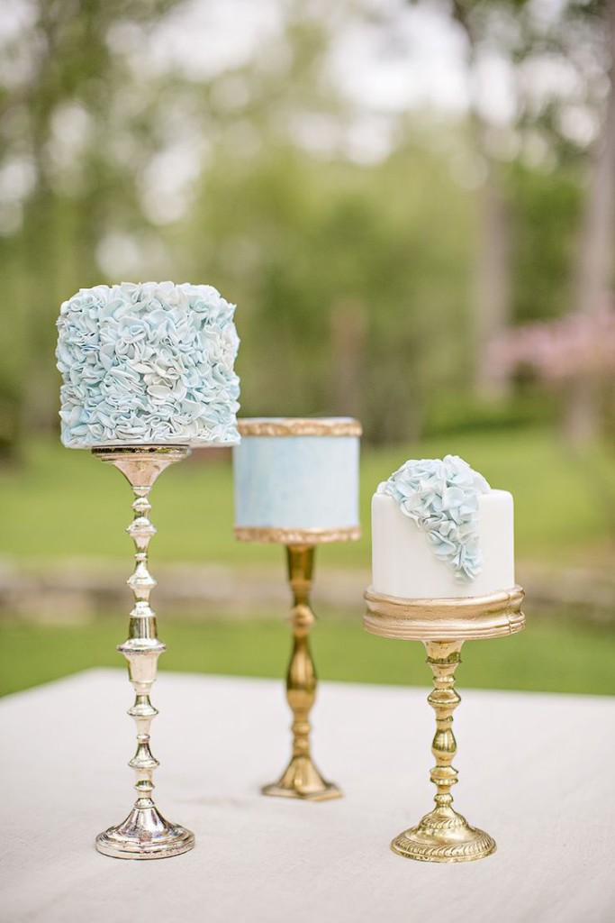 Cutest and Super Lovely Mini Wedding Cakes