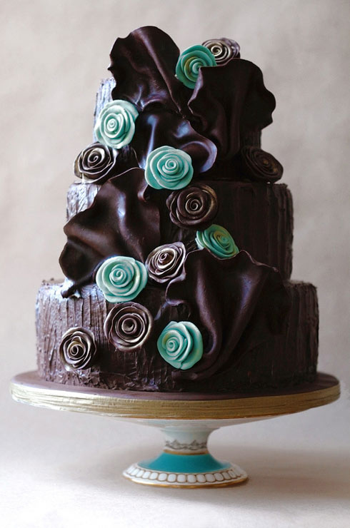 15 Wonderful Cakes With A Touch Of Yummy Chocolate Page 11 Of 15