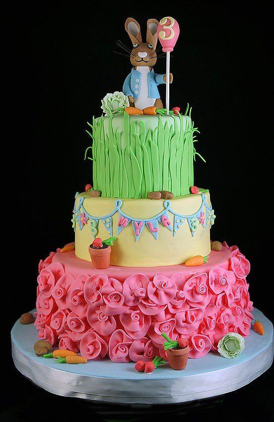 Easter Birthday By Yummcakes Amazing Cake Ideas