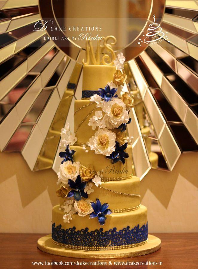 Elegant Gold Cake Amazing Cake Ideas