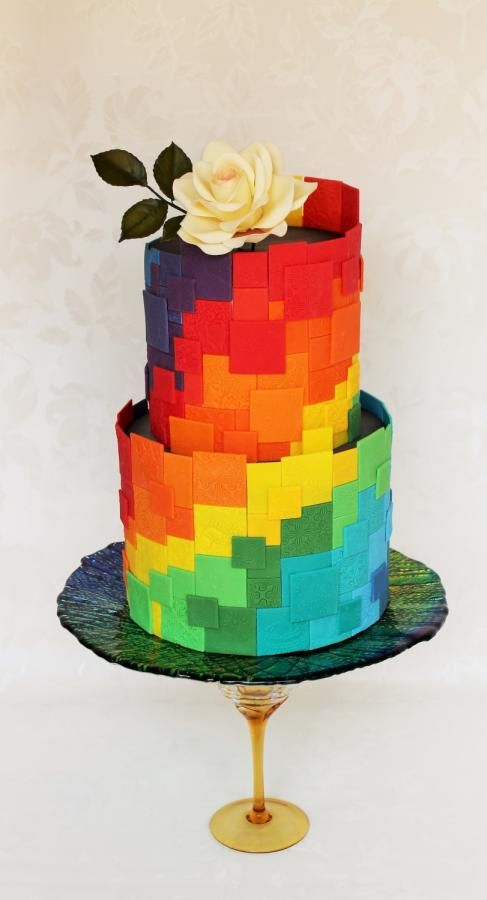 Extraordinary Rainbow Cakes