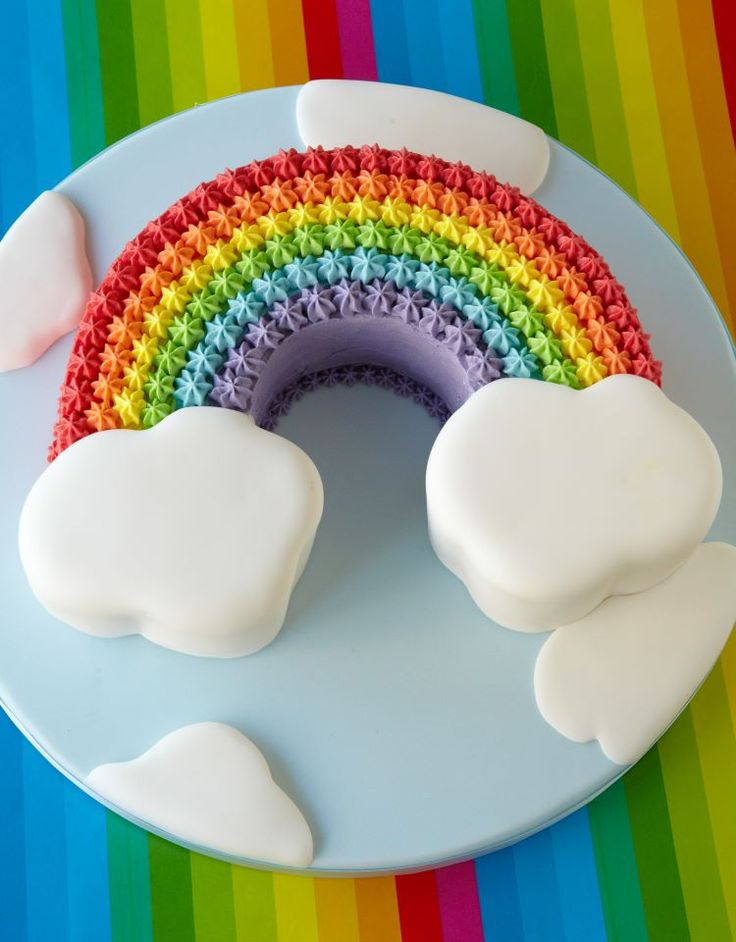 How To Make A Rainbow Shaped Birthday Cake