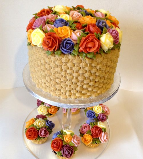 Fabulous Flower Cakes