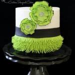 Flapper Inspired Cake