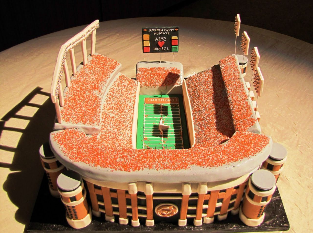 Grooms Cake Sports Arena Amazing Cake Ideas