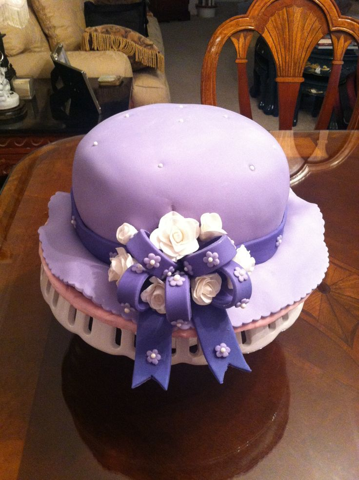 Hat Shaped Cake using Wilton