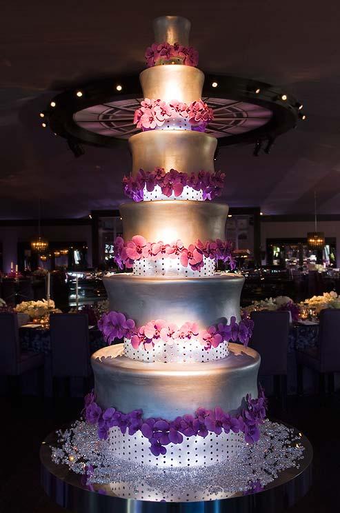 LED Light Gorgeous Arrangement for Cake