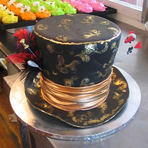 Mad Hatter's Cake