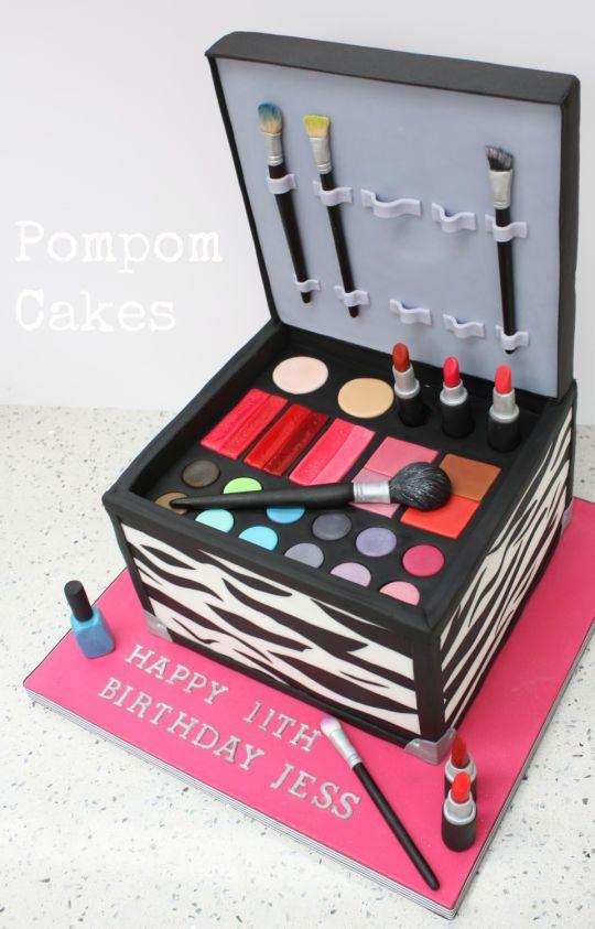 Makeup Kit Cake Images : Makeup Cake Ideas - Mugeek Vidalondon