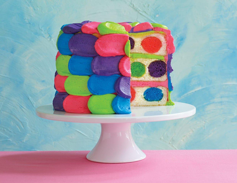 Polka Dot Cakes Recipes