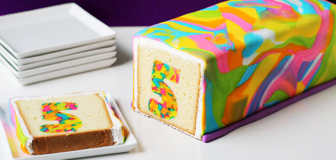 rainbow tie dye surprise cake amazing cake ideas. Black Bedroom Furniture Sets. Home Design Ideas