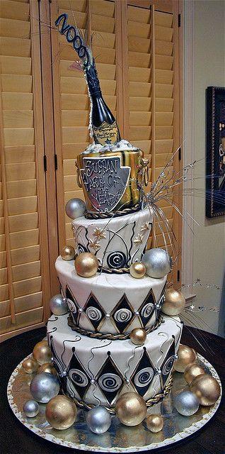Rosebud Cake - New Year 2009