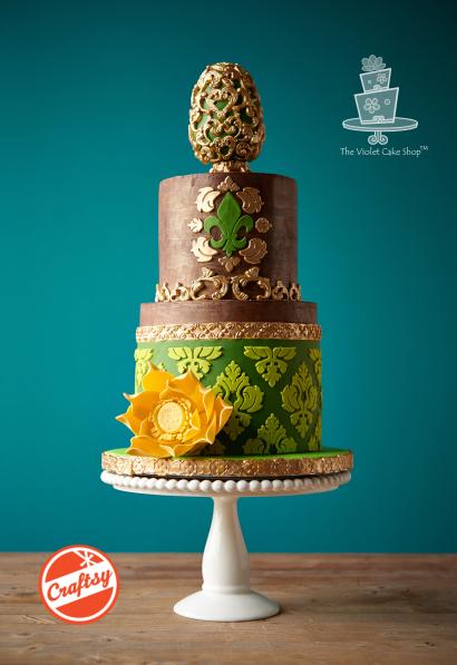 Rustic Elegance Cake