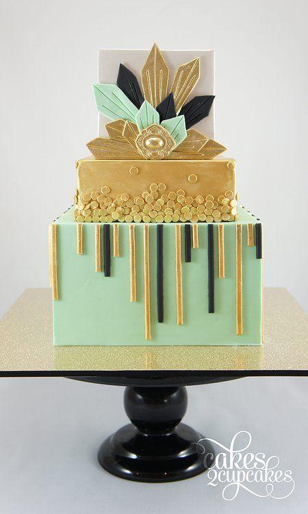 25 Super Pretty Geometric Cakes