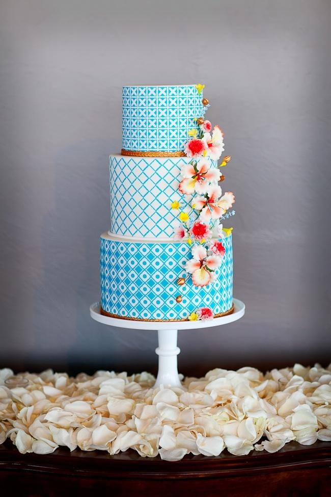Super Pretty Geometric Cake