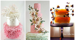 The Most Beautiful Ruffled Cakes