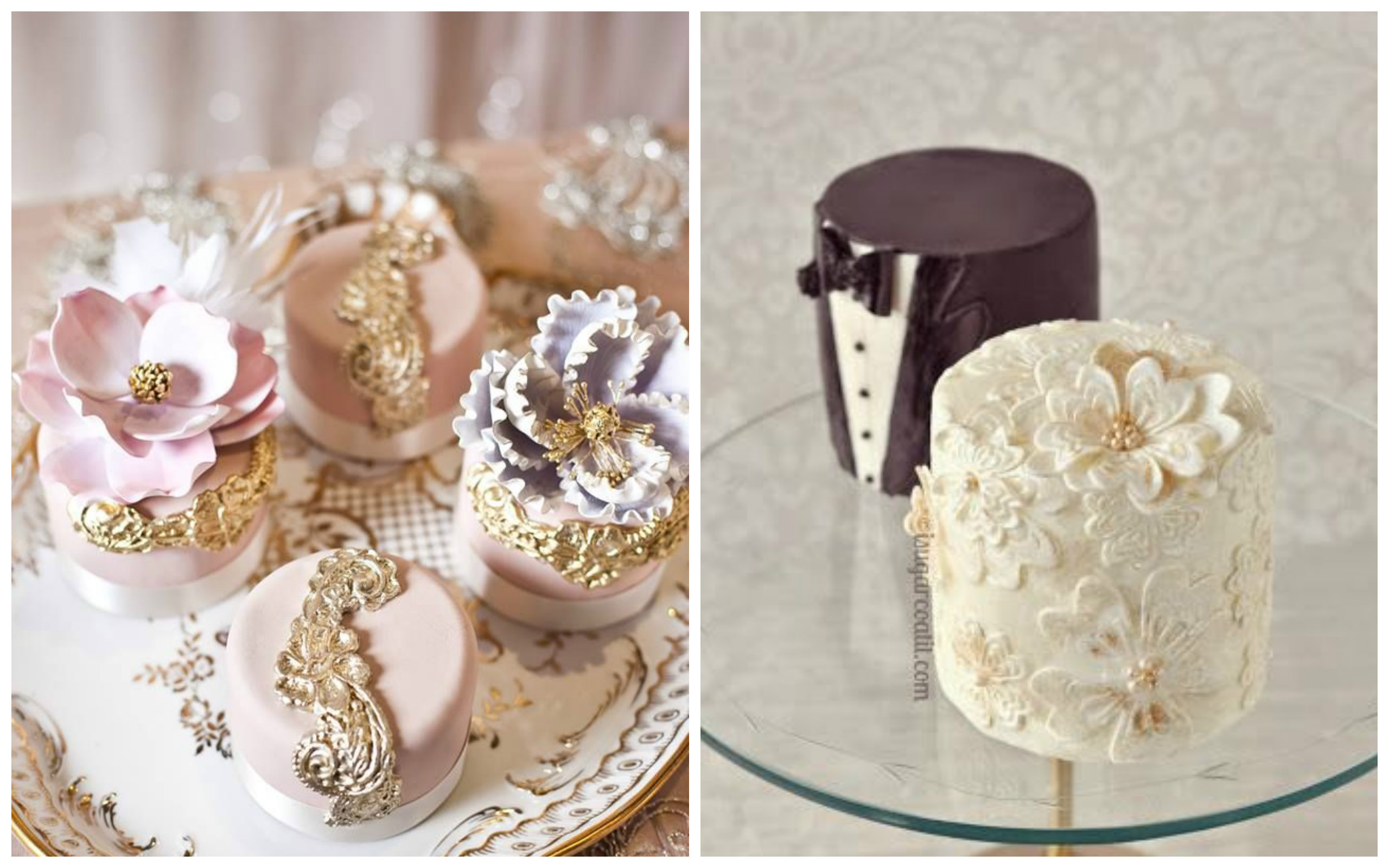 Top 20 Cutest And Super Lovely Mini Wedding Cakes