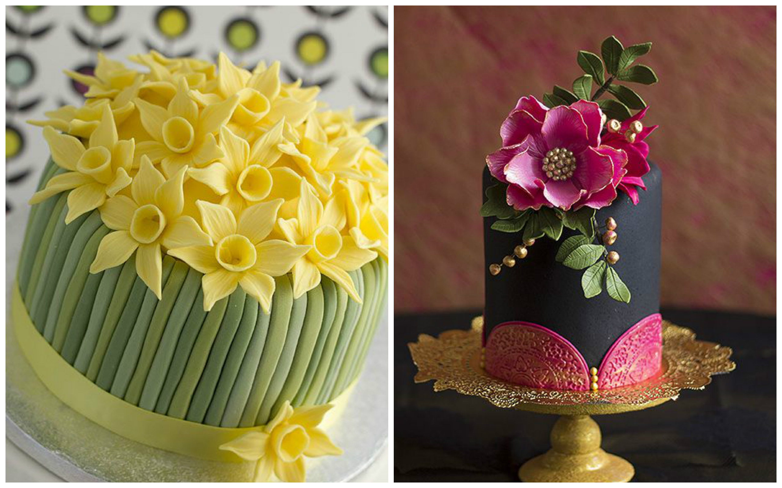 Top 20 Fabulous Flower Cakes