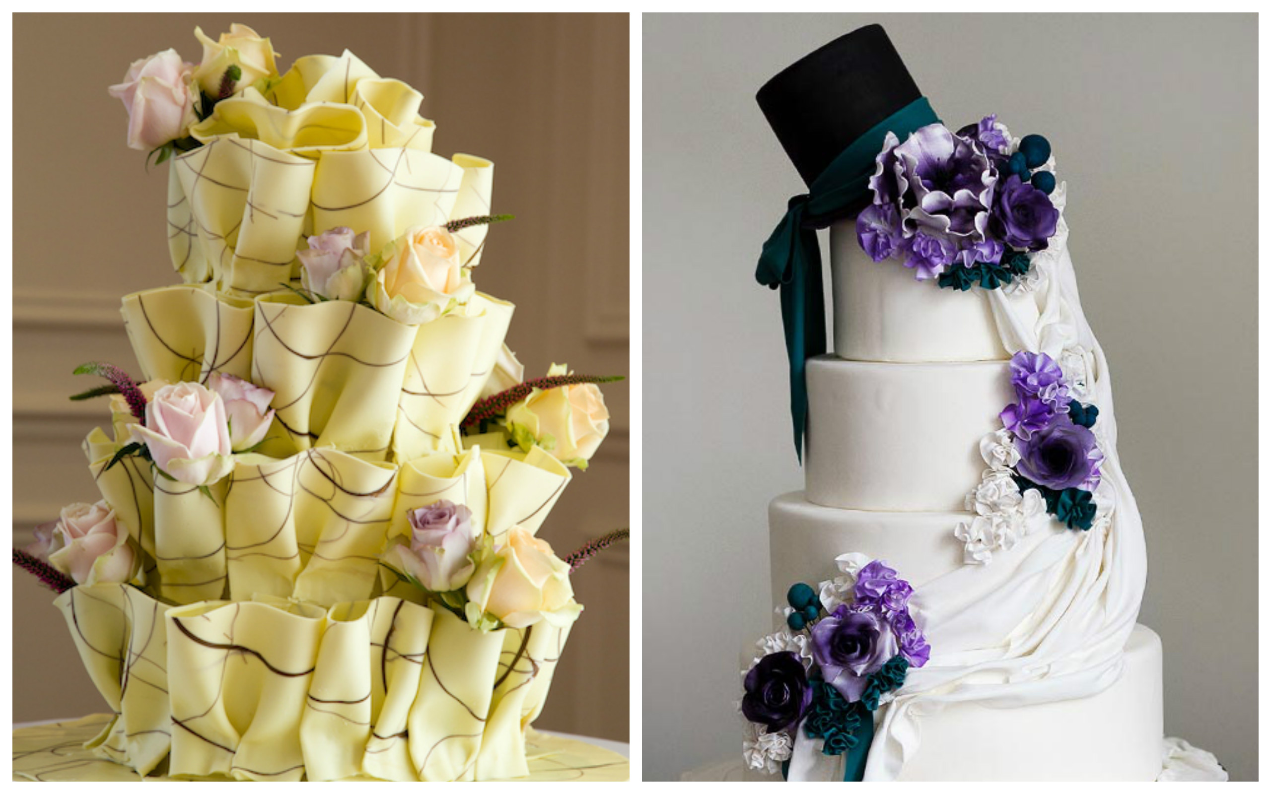 Top Beautiful Wedding Cakes for Any Month - Amazing Cake Ideas