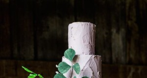 Wild Orchid Wedding Cake