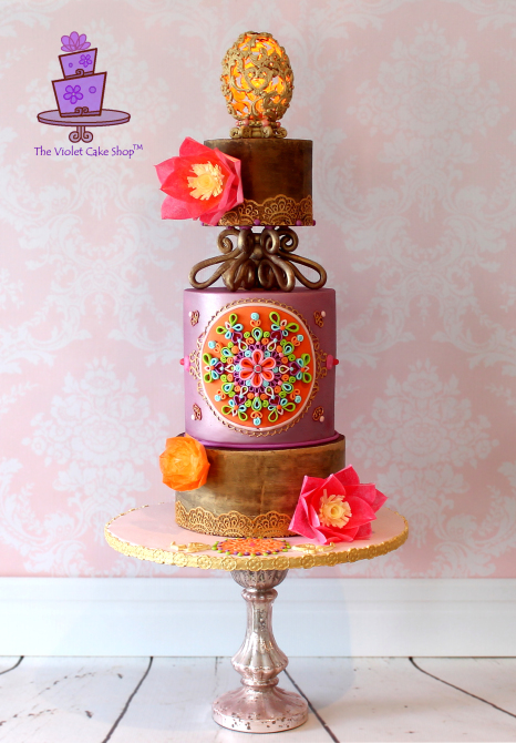 Zuhair Murad Fashion Inspiration Cake