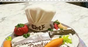 Chef Birthday Cake by Janet Ruiz