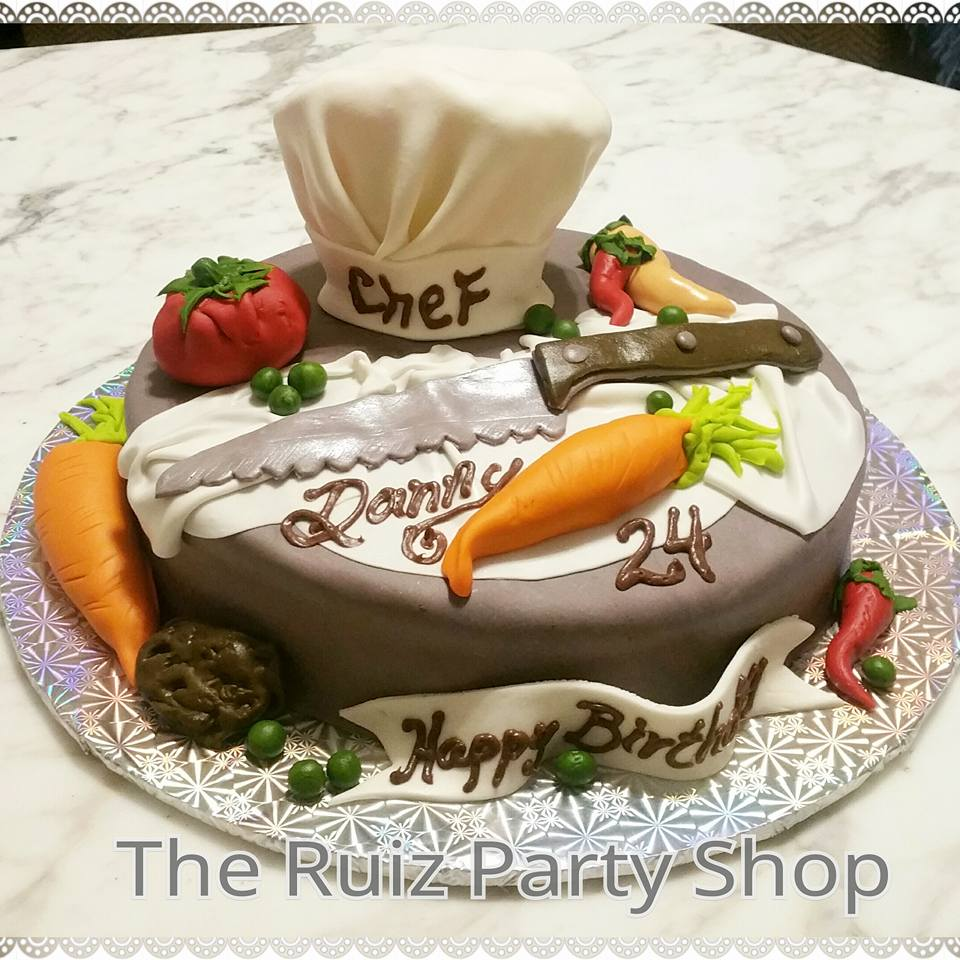 Chef Birthday Cake By Janet Ruiz Amazing Cake Ideas