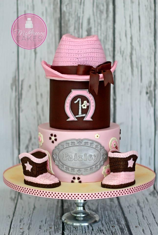Marvelous Cowgirl Birthday Cake Amazing Cake Ideas Personalised Birthday Cards Bromeletsinfo