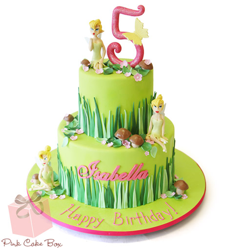 Swell Fairy Themed Birthday Cake Amazing Cake Ideas Personalised Birthday Cards Sponlily Jamesorg