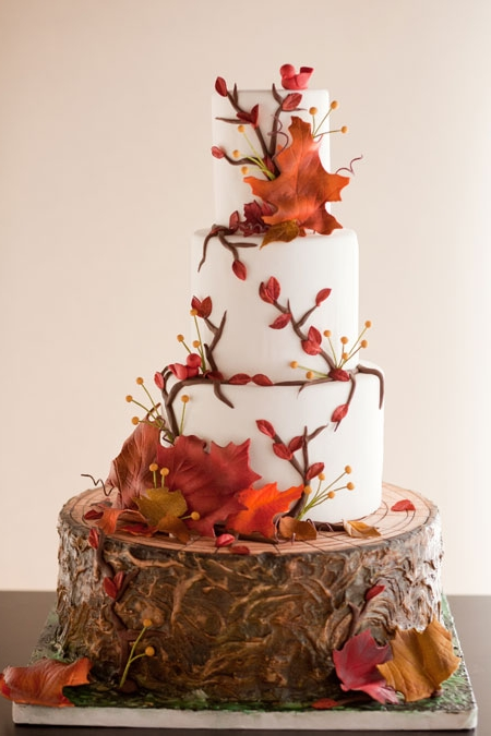 wedding cake fall designs the glamorous cakes page 6 of 20 22592