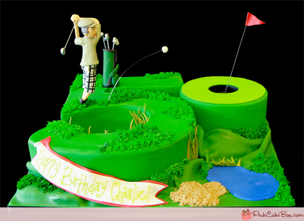 Outstanding Golfers 50Th Birthday Cake Amazing Cake Ideas Funny Birthday Cards Online Eattedamsfinfo