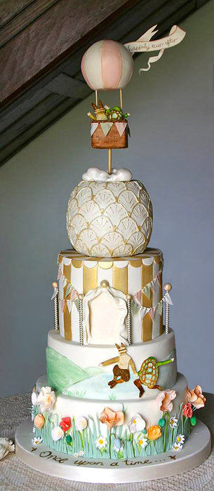 20 Super Fancy-Looking Wedding Cakes - Page 9 of 21