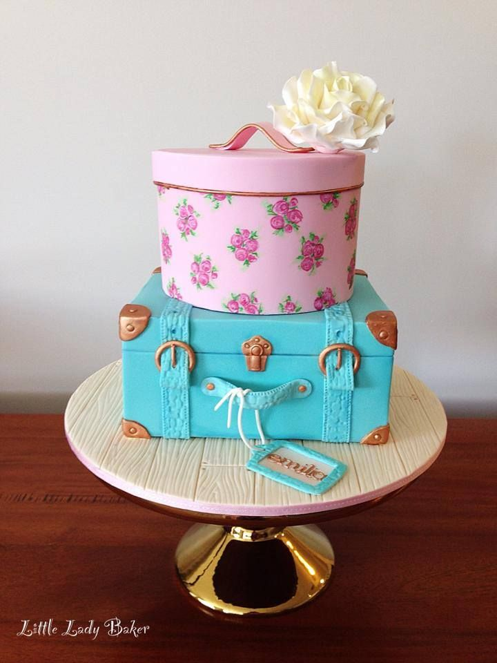 Image Result For Hat Box Cake For A