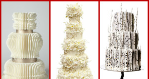 Super Unique and Magnificent Wedding Cakes