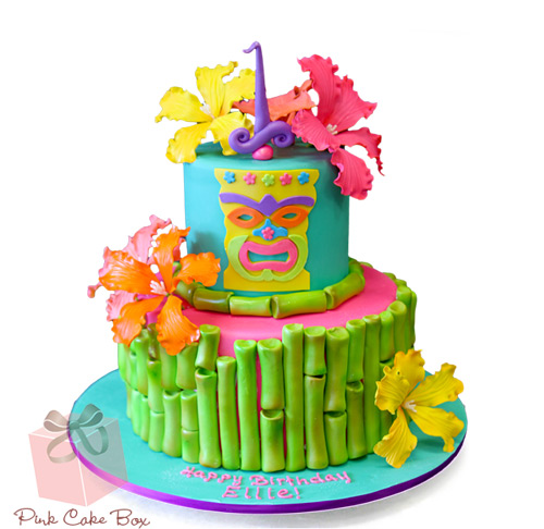 Tremendous Tiki Birthday Cake Amazing Cake Ideas Personalised Birthday Cards Epsylily Jamesorg