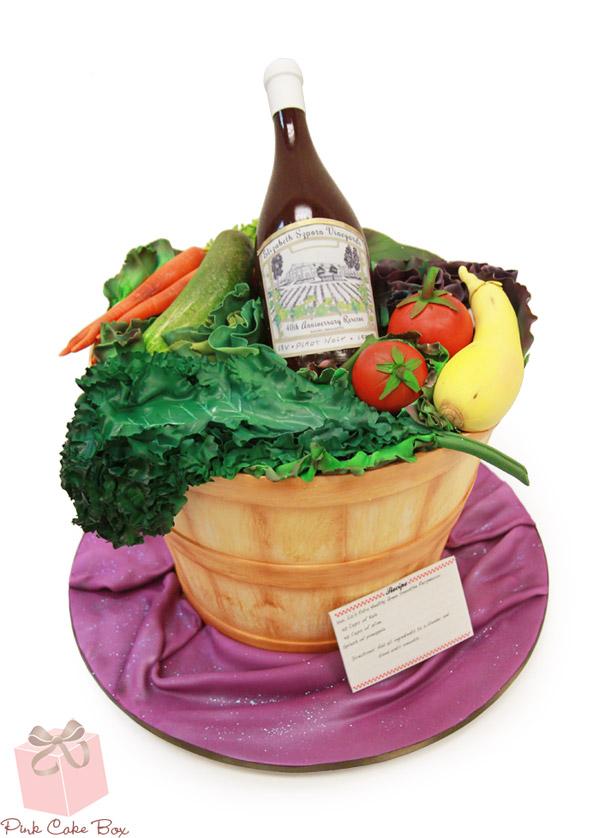 Vegetable Garden Birthday Cake - Amazing Cake Ideas