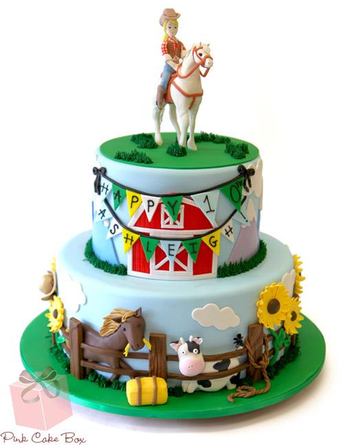 Pleasing Western Themed Birthday Cake Amazing Cake Ideas Funny Birthday Cards Online Alyptdamsfinfo