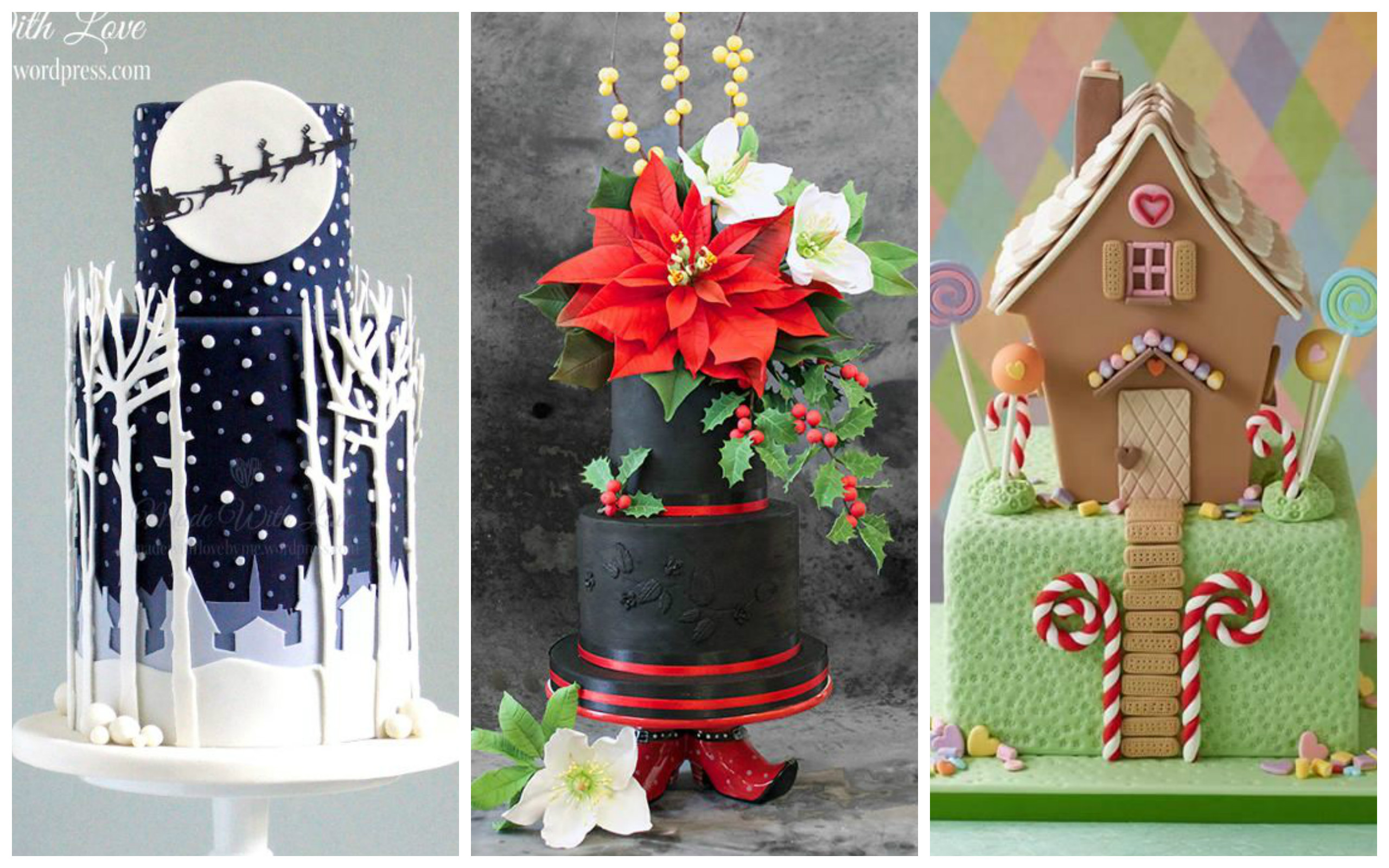 20 most beautiful and wonderful christmas cakes page 6 for Most beautiful christmas photos